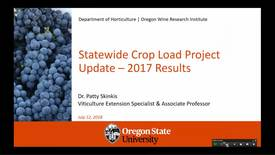 Thumbnail for entry 2018 Statewide Crop Load Project Update Webinar