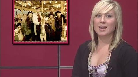 "Thumbnail for entry ""Blonde Bombshells on the Hour"" [KBVR-TV Show], circa 2011"