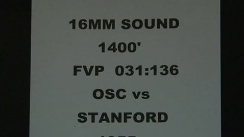 Thumbnail for entry OSC vs. Stanford football, September 24, 1955