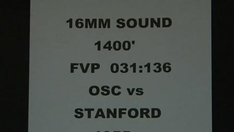 Thumbnail for entry OSC vs. Stanford football, September 24, 1955