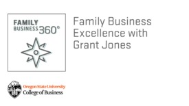 Thumbnail for entry Family Business Excellence with Grant Jones