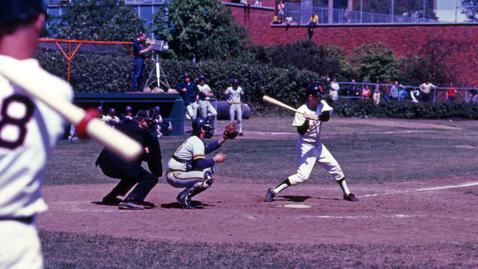 Thumbnail for entry Beavers vs Ducks Baseball Game, 1975 (FV P 057:087)