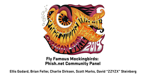 Thumbnail for entry 2019 Phish Studies Conference | Famous Mockingbirds: Phish.net Community Panel