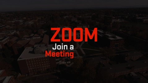 Thumbnail for entry Zoom | Join a Meeting