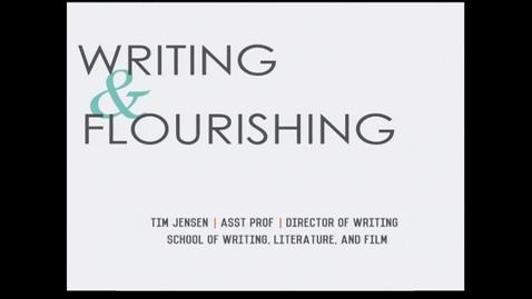 Thumbnail for entry Bringing Flourishing to Advising