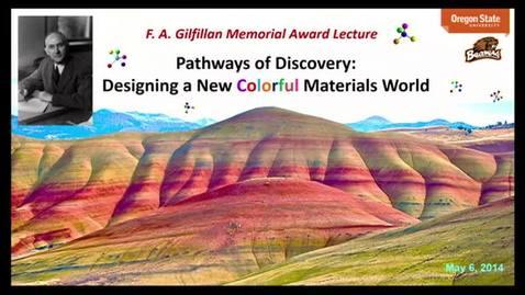 Thumbnail for entry F.A. Gilfillan Award Lecture