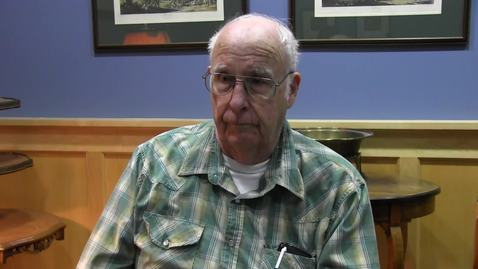 Thumbnail for entry Bill Wilkins oral history interview, October 9, 2019