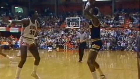 Thumbnail for entry Oregon State University men's basketball highlights montage, 1983-1984