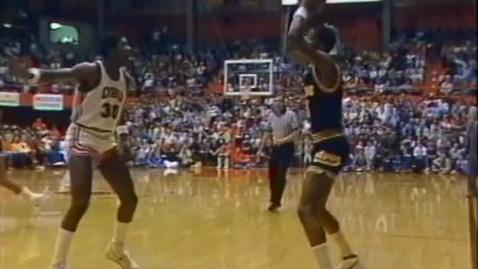 Thumbnail for entry Oregon State University men's basketball highlights montage, 1983-1984