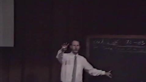 Thumbnail for entry Art appreciation lecture by Erik Sandgren, circa 1980s.