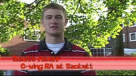 """Thumbnail for entry """"Sackett Luau 2007: Wrapping Up the Year with Sackett Staff"""" [KBVR-TV]"""