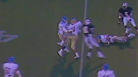Thumbnail for entry Oregon State University football montage, 1987