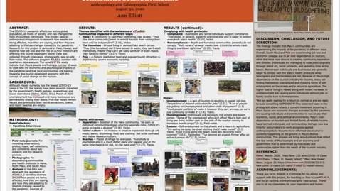 Thumbnail for entry Ann Elliott Poster Presentation 2