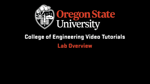 Thumbnail for entry Lab Overview