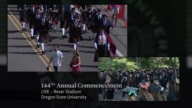Thumbnail for entry 144th Annual Oregon State University Commencement (2013) - Part 1
