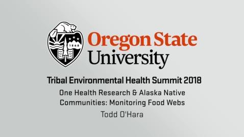 One Health Research & Alaska Native Communities