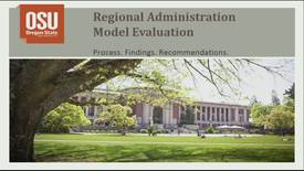 Thumbnail for entry 2015-05-22 O&E Regional Administration Model Evaluation Report