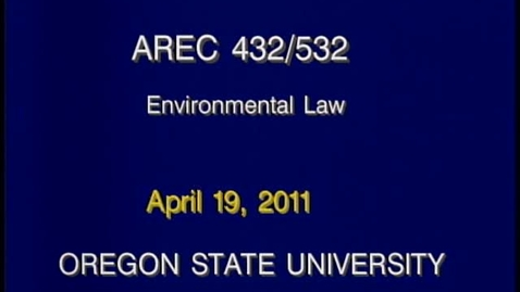 Thumbnail for entry AREC 432/532 - Lecture 07