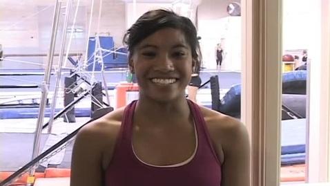 Thumbnail for entry KBVR News - OSU Gymnastics, Fall 2009.