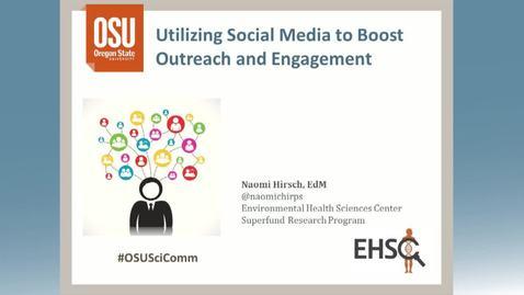 Thumbnail for entry Twitter presentation - Naomi Hirsch