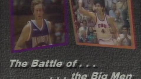 Thumbnail for entry Oregon State University vs. University of Washington basketball, March 1, 1987