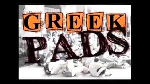 """Thumbnail for entry """"Greek Pads"""" [KBVR-TV Show],  Alpha Phi and Phi Kappa Phi, 2009"""