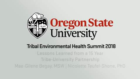 Lessons Learned from a 15 Year Tribe-University Partnership