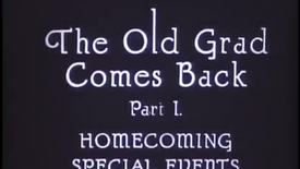 Old Grad Comes Back, 1925 (FV P 48:10)