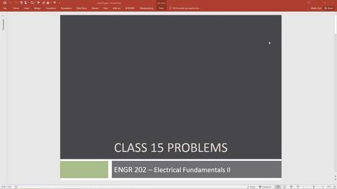 Thumbnail for entry ENGR 202 Class 15 - 05/21/18