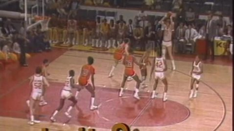 Thumbnail for entry Oregon State University vs. UCLA basketball, January 18, 1987 [overtime period]