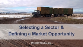 Thumbnail for entry Selecting a Sector and Defining a Market Opportunity