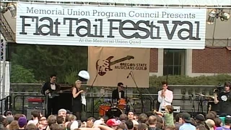 """Thumbnail for entry Flat Tail Music Festival - band """"Yacht,"""" June 2010"""
