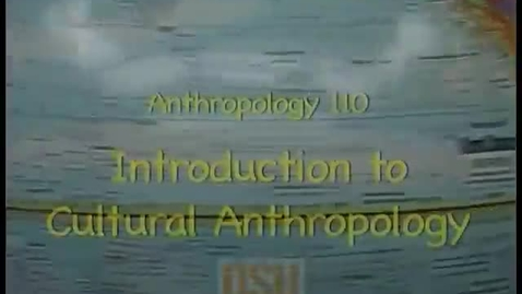 Thumbnail for entry ANTH 110 - Rosenberger, Japan lecture