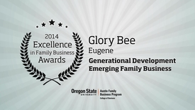 Thumbnail for entry 2014, GloryBee, Excellence in Family Business Awards