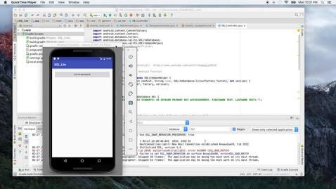 SQLite_demo