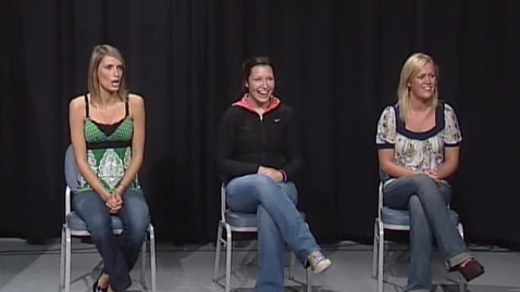 "Thumbnail for entry ""OSU Dating Game"" [KBVR-TV], November 4, 2008"