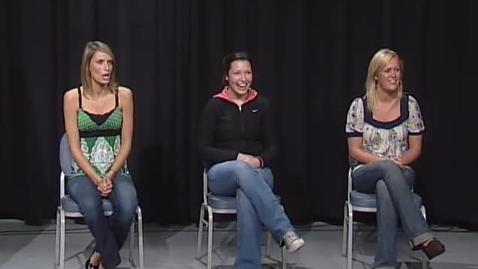 "Thumbnail for entry ""OSU Dating Game"" [KBVR-TV], November 4, 2008"