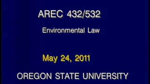 Thumbnail for entry AREC 432/532 - Lecture 16