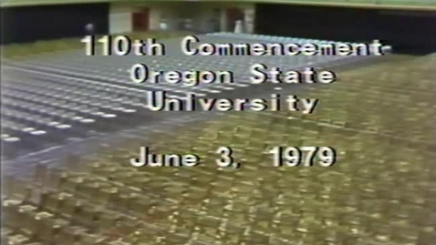 Thumbnail for entry OSU Commencement, 1979