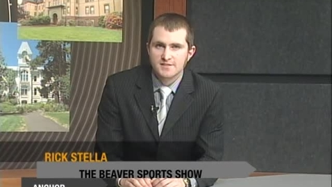 """Thumbnail for entry """"The Beaver Sports Show"""" [KBVR-TV], May 5, 2010"""