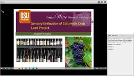 Thumbnail for entry Statewide Crop Load Project - Sensory Webinar 2018