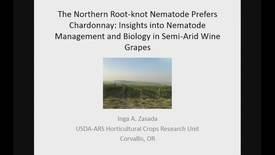 The northern Root-knot Nematode Prefers Chardonnay: Insights into Nematode Biology and Management in Semi-arid wine grape vineyards
