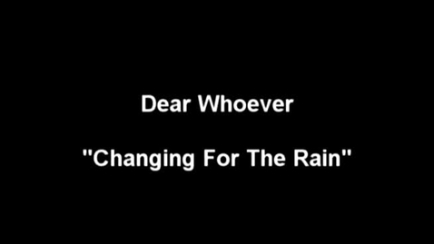 """Thumbnail for entry """"The Meow Meow Show"""" [KBVR-TV] - Dear Whoever perform their song, """"Changing for the Rain,"""" 2004"""