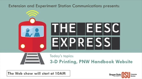 Thumbnail for entry EESC Express October 2016 - 3-D Printing, New Handbooks Website, more
