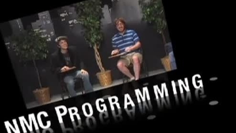 Thumbnail for entry Promo video - New Media Communications on KBVR, circa 2000s