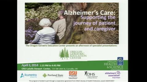 Thumbnail for entry Oregon Geriatric Education Center