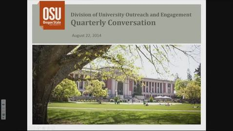 Thumbnail for entry Outreach and Engagement Conversation