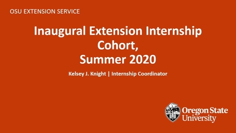 Thumbnail for entry OSU Extension Presentation