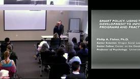 Smart Policy | Campbell Lecture Series, Fall 2011