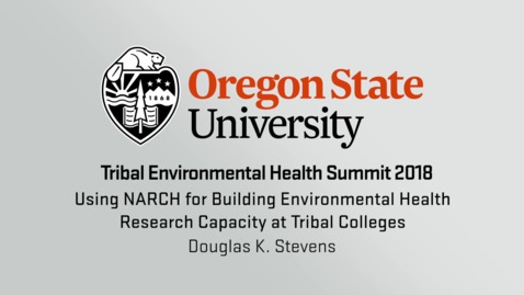 Using NARCH for Building Environmental Health Research Capacity at Tribal Colleges